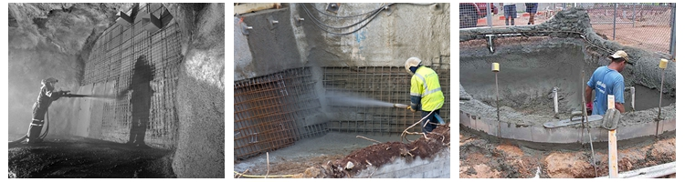 shotcrete pump application
