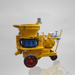 Pneumatic shotcrete machine