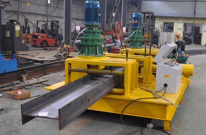 steel beam bender
