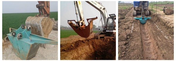 ditch digging bucket