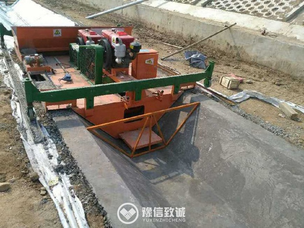 ditch forming machine