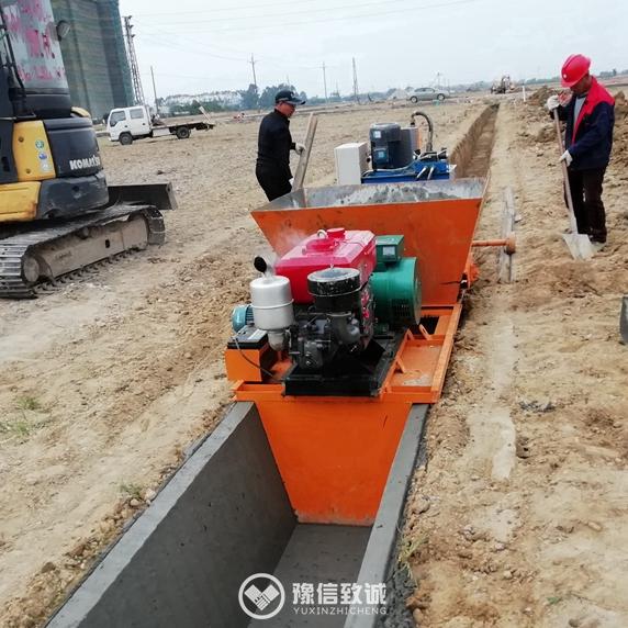 Ditch Slipform Paving Machine