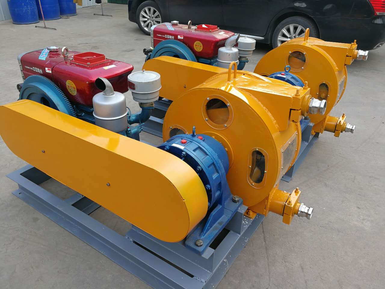 hose peristaltic pump diesel power