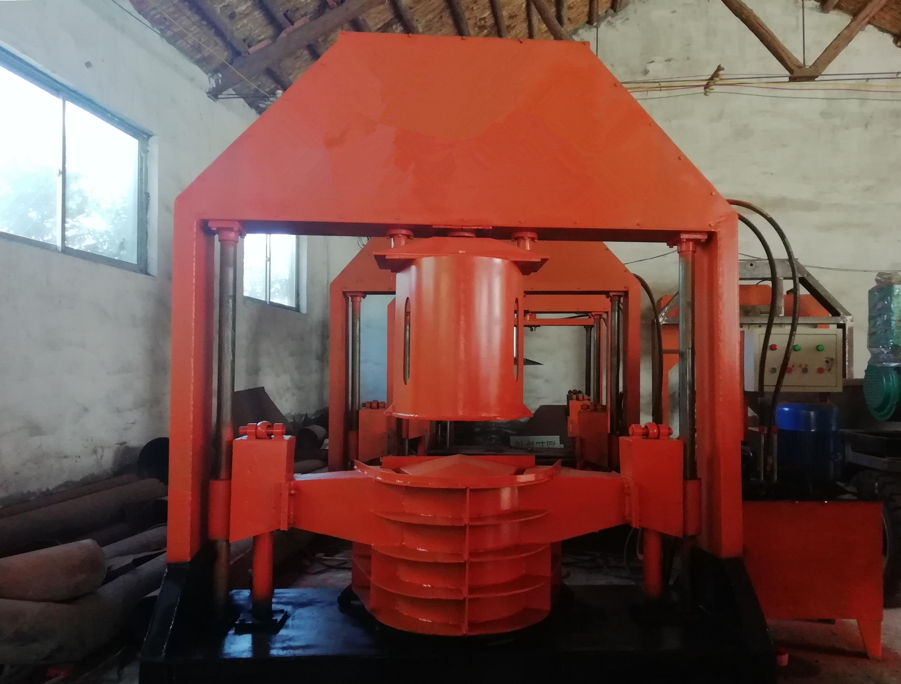 Precast concrete U-shaped drain making machine