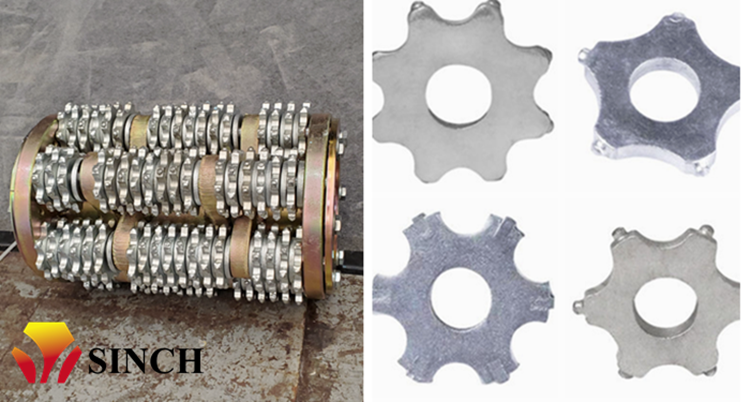 wearing parts of milling machine