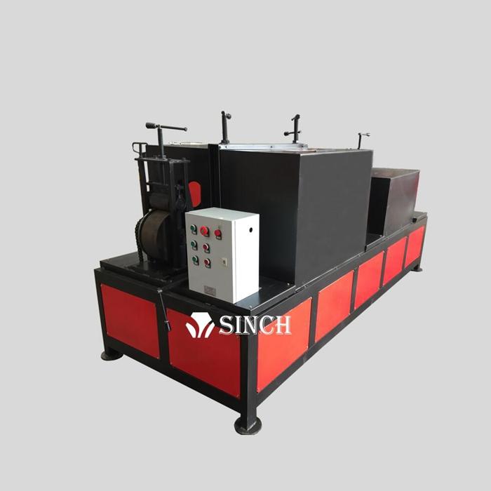 Auto feeding Square Pipe Derusting Machine