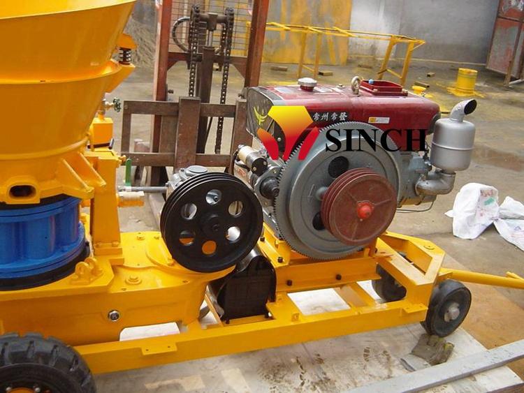 Diesel Shotcrete Machine