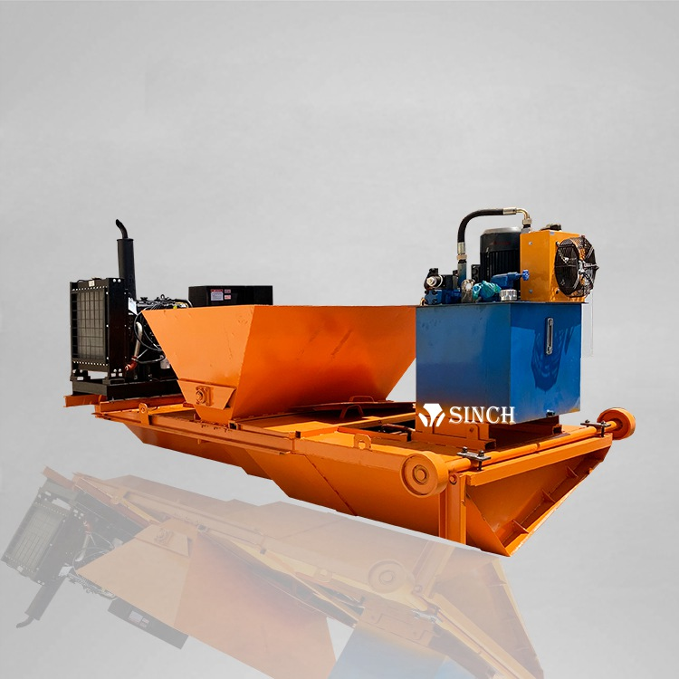 Slipform Canal Paver-Traction moving