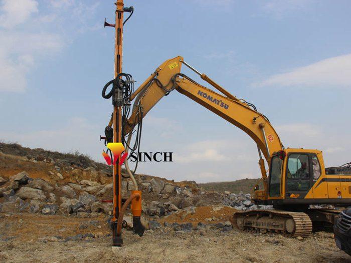 DTH drilling machine